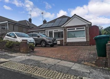 Thumbnail 3 bed detached bungalow for sale in Frimley Close, Woodingdean, Brighton, East Sussex