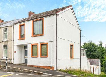 Thumbnail 3 bed end terrace house for sale in Llangyfelach Road, Treboeth, Swansea