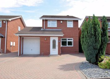 Thumbnail 3 bed detached house for sale in Caldeford Avenue, Shirley, Solihull