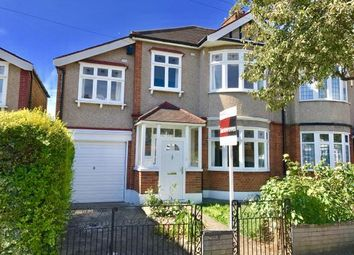 Thumbnail 4 bed semi-detached house for sale in Newburypark, Ilford, Essex