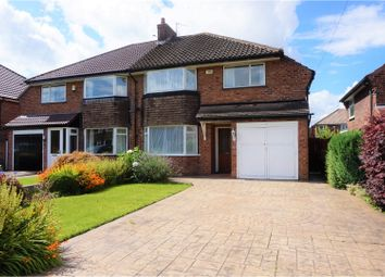 Thumbnail 3 bed semi-detached house for sale in Thornton Road, Cheadle