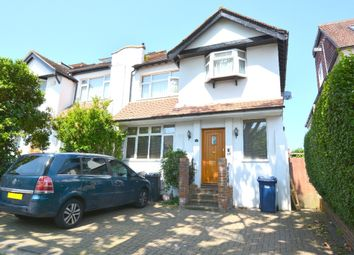 Thumbnail 4 bedroom semi-detached house for sale in West Avenue, London