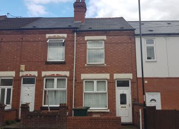 Thumbnail 3 bed terraced house for sale in Terry Road, Lower Stoke, Coventry