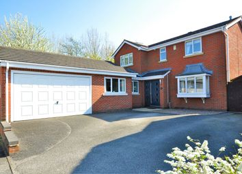 Thumbnail 4 bed detached house for sale in Totnes Close, Stretton, Burton-On-Trent