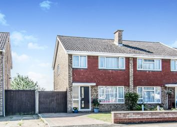 Thumbnail 3 bed semi-detached house for sale in Goodrich Avenue, Bedford