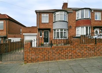 Thumbnail 3 bed semi-detached house for sale in Kelso Gardens, Newcastle Upon Tyne