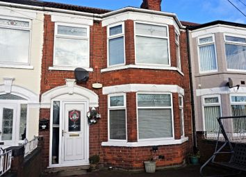 Thumbnail 3 bed terraced house for sale in Spring Bank West, Hull