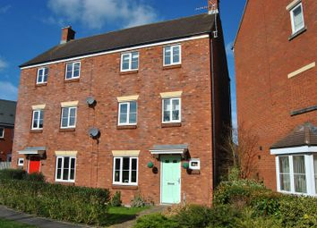 Thumbnail 4 bed semi-detached house for sale in White Eagle Road, Haydon End, Swindon