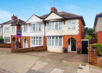 Thumbnail 3 bed semi-detached house for sale in Rothersthorpe Road, Northampton