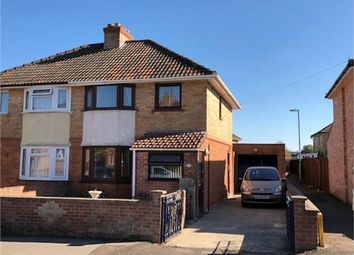 Thumbnail 3 bed semi-detached house for sale in Belmont Road, Taunton, Somerset