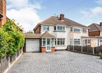 Thumbnail 3 bed semi-detached house for sale in Hollyhurst Road, Sutton Coldfield