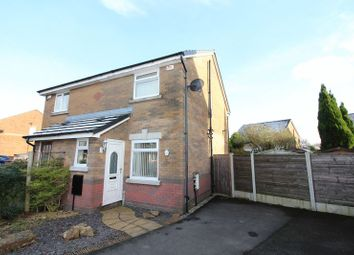 Thumbnail 2 bed semi-detached house for sale in Grassington Drive, Bury