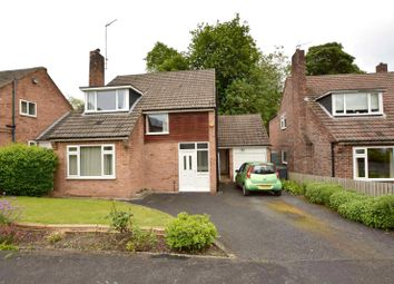 Thumbnail 3 bed detached house for sale in Elmete Drive, Roundhay, Leeds