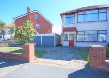 Thumbnail 3 bed semi-detached house to rent in Luton Road, Thornton Cleveleys