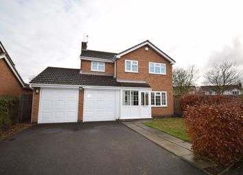 Thumbnail 4 bed detached house for sale in Deeming Drive, Quorn, Leicester