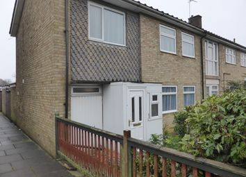 Thumbnail 3 bed end terrace house to rent in Gayton Court, Ravensthorpe, Peterborough