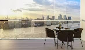 Thumbnail 3 bedroom flat to rent in Enderby Wharf, Greenwich, London