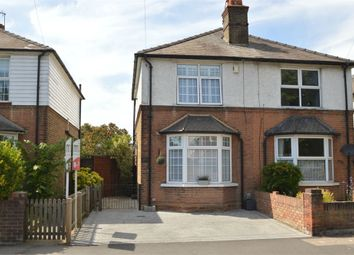 Thumbnail 2 bed semi-detached house for sale in Molesey Road, Hersham, Surrey