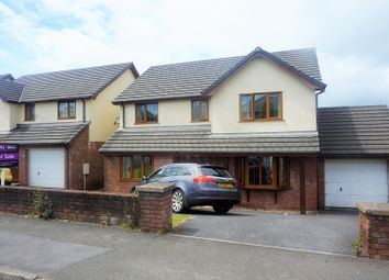 Thumbnail 4 bed detached house for sale in Cross Hands Road, Llanelli