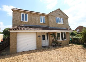 Thumbnail 4 bedroom detached house for sale in Straight Furlong, Pymoor, Ely