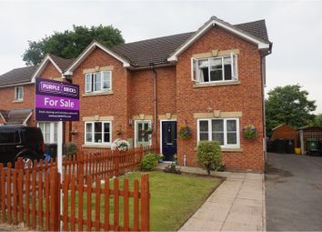 Thumbnail 3 bed semi-detached house for sale in Church Close, Shawbury