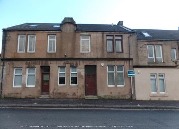 Thumbnail 1 bed flat to rent in High Street, Newarthill, Motherwell