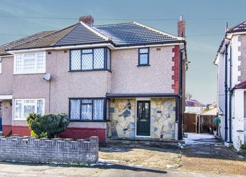 Thumbnail 3 bed semi-detached house for sale in Elms Farm Road, Hornchurch
