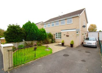 Thumbnail 3 bed semi-detached house for sale in Goss Drive, Street, Somerset