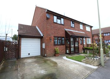 Thumbnail 3 bed semi-detached house for sale in Eastbrook Close, Gosport, Hampshire