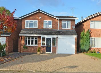 Thumbnail 3 bed detached house for sale in Buccleuch Close, Dunchurch, Rugby