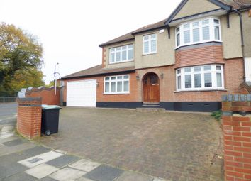 Thumbnail 5 bed end terrace house to rent in The Fairway, Palmers Green