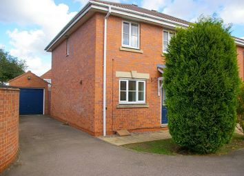 Thumbnail 3 bed semi-detached house to rent in Coltsfoot Road, East Hamilton, Leicester