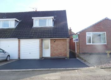 Thumbnail 3 bed semi-detached house to rent in Kirkfield Road, Countesthorpe, Leicester