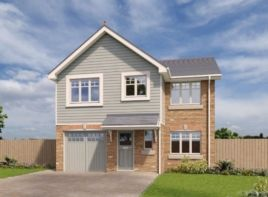 Thumbnail 4 bed detached house for sale in The Raleigh, Phase 2, Royal Park, Ramsey