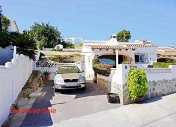 Thumbnail 2 bed link-detached house for sale in La Sabatera, Moraira, Alicante, Valencia, Spain