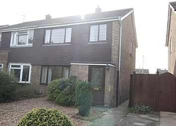 Thumbnail 3 bed semi-detached house to rent in Waterloo Close, Brampton, Huntingdon