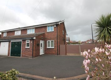 Thumbnail 4 bed semi-detached house for sale in Kirkstall Road, Urmston, Manchester