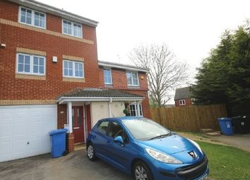Thumbnail 3 bed town house to rent in Abbots Close, Kettering