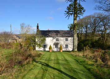 Thumbnail 4 bed detached house for sale in Grampound Road, Truro