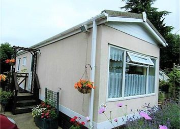 Thumbnail 1 bed mobile/park home for sale in Glebe Drive, Countesthorpe, Leicester