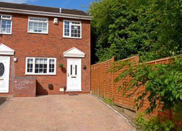 Thumbnail 2 bed end terrace house to rent in Cheswick Close, Redditch