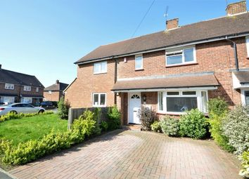Thumbnail 3 bedroom terraced house to rent in Cowley Crescent, Hersham, Walton-On-Thames, Surrey