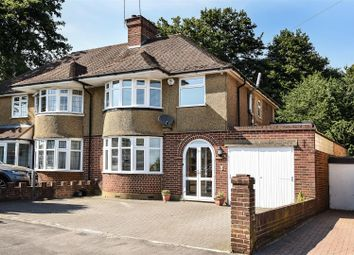 Thumbnail 3 bed semi-detached house for sale in Lincoln Way, Croxley Green, Rickmansworth
