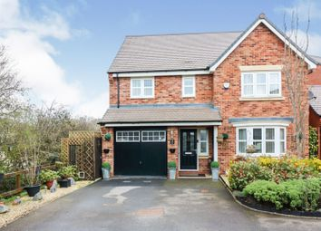 Thumbnail 4 bed detached house for sale in Hawthorn Close, Rugby