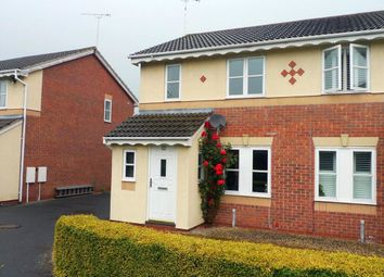 Thumbnail 3 bedroom semi-detached house to rent in Helston Close, Stafford
