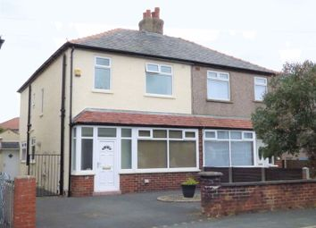 Thumbnail 4 bed semi-detached house for sale in Rossall Road, Lancaster