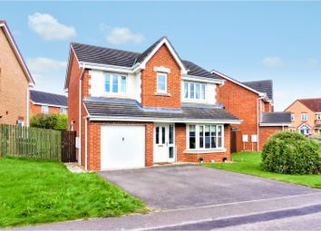 Thumbnail 4 bed detached house for sale in Woodlands Green, Darlington