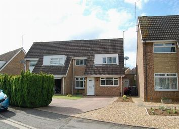 Thumbnail 3 bed semi-detached house for sale in Westcott Way, Abington Vale, Northampton