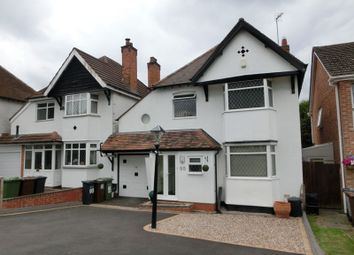 Thumbnail 4 bed link-detached house for sale in Burman Road, Shirley, Solihull