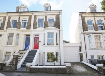 Thumbnail 4 bedroom terraced house for sale in Folkestone Road, Dover